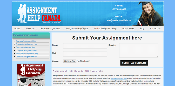 assignmenthelp.ca review